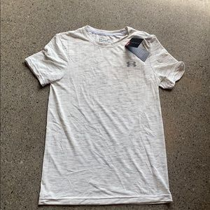 Men's Under Armour Threadbone Small Shirt White